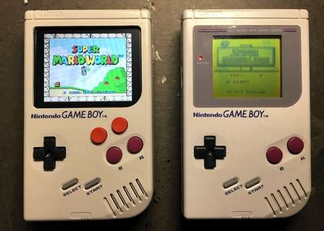 Revived Retro Gaming Devices - The Game Boy Zero