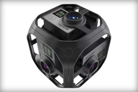 Action Cam VR Rigs - The GoPro Omni is a More Affordable Version to the Odyssey