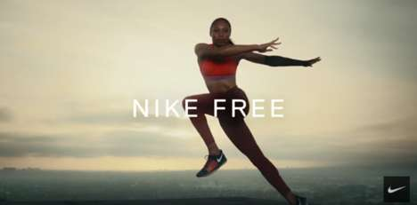 Natural Movement Sport Ads - The Nike Revolution in Motion Campaign Stars Serena Williams and More