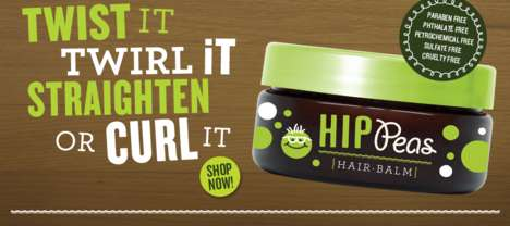 Kid-Friendly Hair Products - The Hip Peas Hair Styling Balm is Safe for Kids to Use