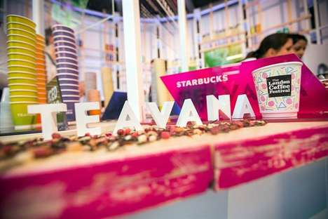 Light Tea Collection Launches - The Starbucks Tea Range Was on Display at the London Coffee Festival