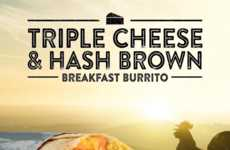 Hash Brown-Stuffed Burritos - This Hybrid Breakfast Wrap Combines Two Dishes into One