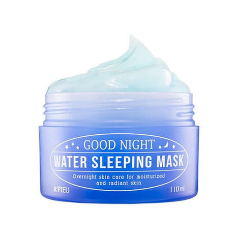 Hydrating Sleeping Masks - A'PIEU's Good Night Water Sleeping Mask Moisturizes Overnight