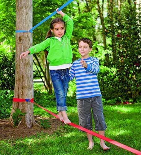 Kids Balance-Training Kits - The Kids Slackline Kit Encourages Children to Train with One Another