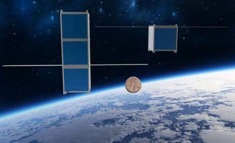 Student-Designed Spacecraft - This Mini Satellite Would Cost Less Than a $1000 to Deploy To Space