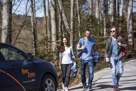 Futuristic Car-Sharing Services - BeeZero's Service Uses Fuel Cell-Powered Hyundai Cars