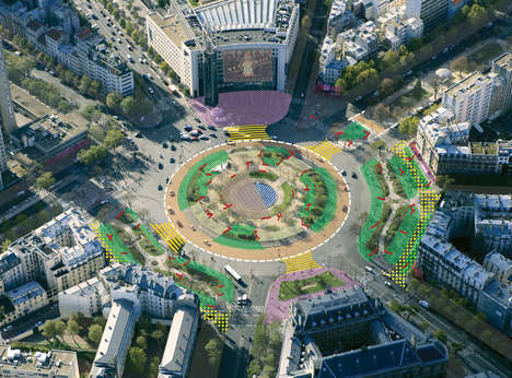 Pedestrian-Oriented Urban Redesigns - The Place de la Bastille Undergoes a Remodel for Foot Traffic
