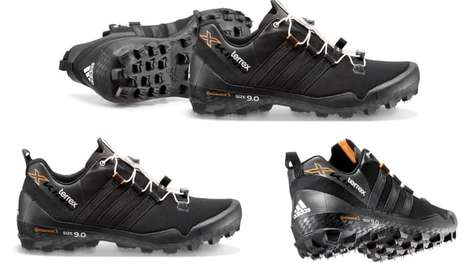 Rugged Trail Shoes - Adidas' New Trail Running Shoe Features Mountain Bike Tire Lugs