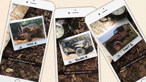 Utility Vehicle Snapchat Campaigns - The Jeep Snapchat Campaign Encourages User-Generated Content