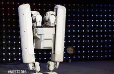Society-Aiding Robots - The SCHAFT Robotics Company Unveiled a New Bipedal Robot