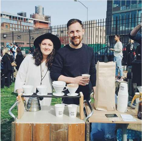 Mobile Coffee Shops - This Catering Company Will Bring Fresh Coffee Directly to Consumers