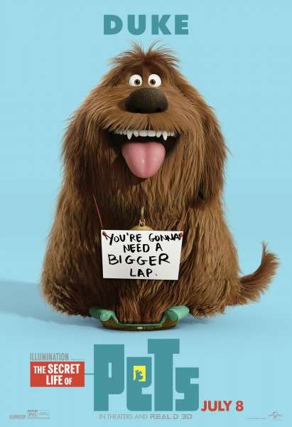 Animated Animal Posters - 'The Secret Life of Pets' Poster Series Celebrates National Pet Day