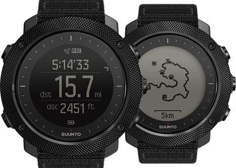 Wildlife Hunter Smartwatches - The Suunto Traverse Alpha Watch is for Avid Hunters and Fishers