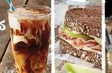Seasonal Sandwich Menus - The Bruegger's Bagels Spring Menu Includes Apple-Topped Sandwiches