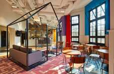Eclectic Hostel Experiences - The Generator Hostel Amsterdam Exudes an Ultramodern Aesthetic
