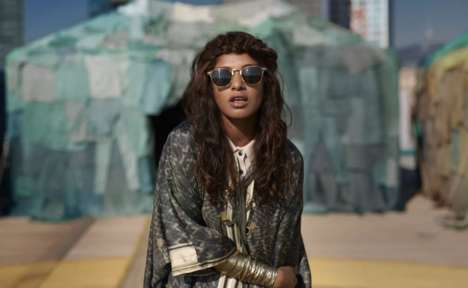 Fashion Ad Music Videos - The H&M World Recycle Week is Promoted Through M.I.A.