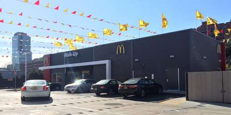 Seat-Free Restaurant Concepts - This New McDonald's Location Has No Seating Area for Customers