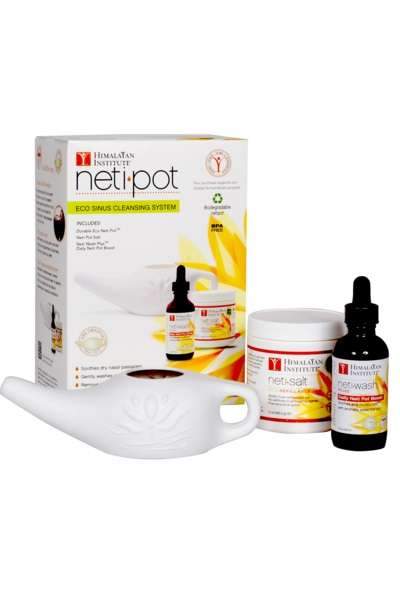 Neti Pot Travel Kits - This Starter Kit from the Himalayan Institute Treats Nasal Issues on the Go