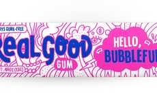 "Wholesome Chewing Gums - Real Good's Natural Gum Promises a ""Gunk-Free"" Formula"
