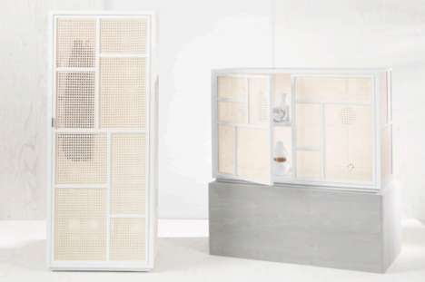 Versatile Wardrobe Combinations - The Air Wardrobe and Sideboard System Keeps Homes Clutter-Free