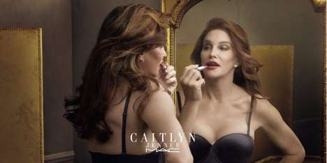 Empowering Celebrity Lipsticks - MAC Cosmetics x Caitlyn Jenner Finally Free Lipstick is Altruistic