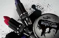 Punk Rock Cosmetics Collections - The 'Brooke Candy x Mac V 2.0' Line Boasts a Punk Rock Look