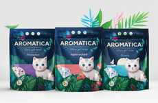 Aromatic Cat Litter - 'Aromaticat' Makes Scented Silica Gel to Improve Household Pet Odours