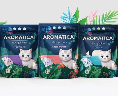 Aromatic Cat Litter