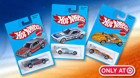 Retro Toy Cars - The Hot Wheels Retro Style Toys Include Classic Chevrolets and Toyotas