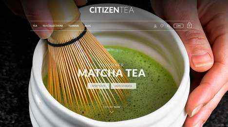 Loose Leaf E-Commerce Brands - CitizenTea is a Newly Launched Premium E-Commerce Brand