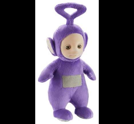 Plush Talking Toys - This Tinky Winky Toy Talks To You When You Press Its Tummy