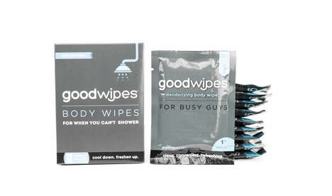 Male-Targeted Body Wipes - GoodWipes Makes Body and Below-the-Belt Hygiene Wipes for Men