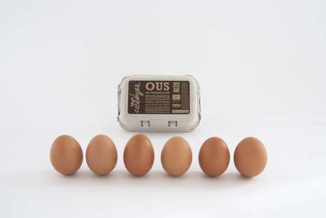 National Park Produce Branding - This Eggs Packaging Design Was Created for a Barcelona Park