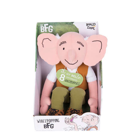 Literary Giant Toys - Roald Dahl's Big Friendly Giant is Being Sold as an Interactive Plush Toy