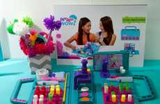 Pom-Pom Maker Toys - The PomPom Wow Helps Creatively Customize Personal Items