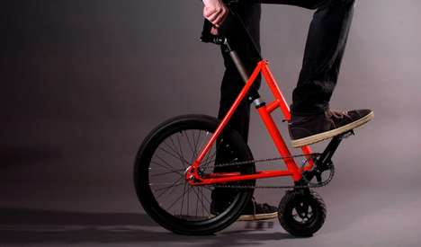 Ultra-Compact Bicycles - The 'Halfbike' is Designed For Compact Urban Storage