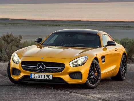 Turbocharged Grand Tourer Cars - The New Mercedes AMG GT R Features a 570-Horsepower Engine