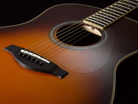 Tone-Boosting Guitars - Yamaha's TransAcoustic Guitars Use Piano Technology For Improved Sound