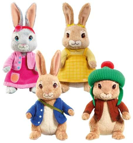 Storybook Rabbit Toys - These Collectible Peter Rabbit Toys Introduce Characters from the TV Series