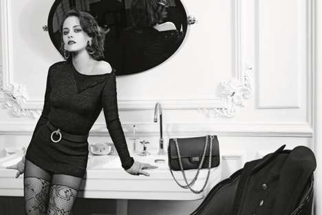 Sultry Starlet Campaigns - The Latest Kristen Stewart Chanel Ad Exudes an Air of Sensuality