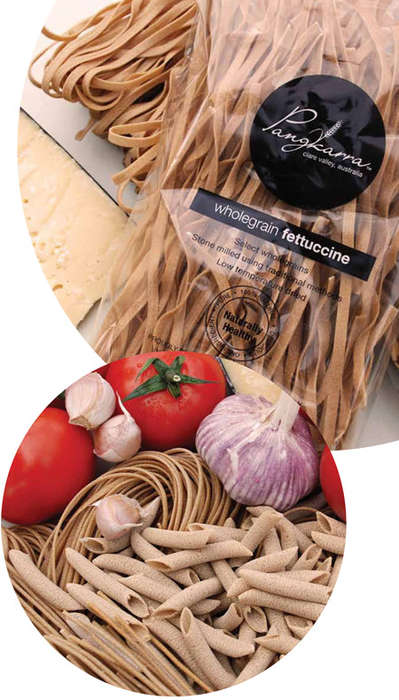 Sustainably Farmed Pastas - Pangkarra Foods' Whole Grain Pasta is Versatile and Delicious