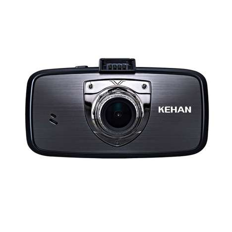 Vehicular Night Vision Cameras - The KEHAN Dashboard Camcorder Records in Super High-Definition