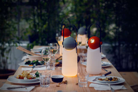 Lamp-Flashlight Hybrids - The Guidelight by Floris Schoonderbeek is Versatile for Outdoor Adventures