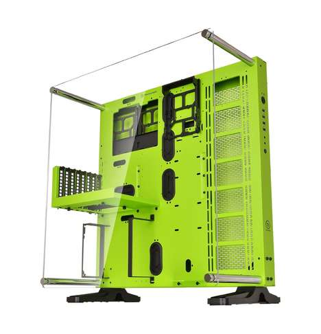 Liquid Cooling Computer Cases - The ThermalTake CORE P5 Liquid Cooling Computer Case is Efficient