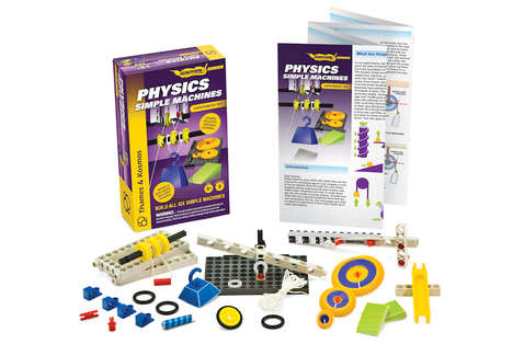 Physics-Teaching Kits - The Physics Simple Machines Kids Science Kit Teaches the Basics of Physics
