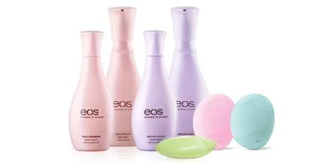 Contemporary Feminine Moisturizers - The eos Body Lotion Boasts Refreshing Scents for Spring