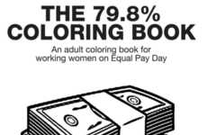 Wage Gap Coloring Books