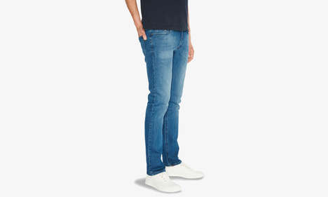 Flexible Stretch Denim - The Mott & Bow Spring Jeans Focuses on Comfort With Expandable Fabric