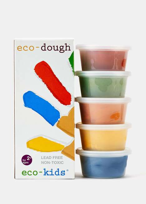 Eco Modelling Clays - Eco Kids' Eco-Dough is a Sustainable Alternative to Similar Art Mediums