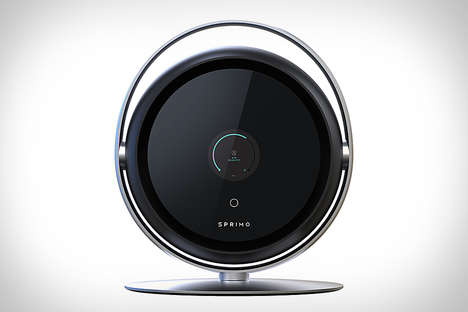 Adaptive Air Purifiers - The Sprimo Personal Air Purifier Adaptively Makes the Air Cleaner